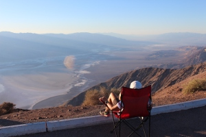 Dante's peak, Death Valley National Park, California.